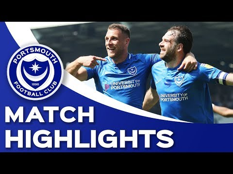 Highlights: Portsmouth 2-1 Coventry City