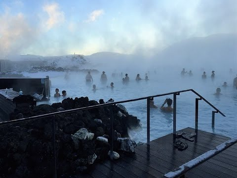 Blue Lagoon Spa, Iceland, Reykjavik, Geothermal Spa, GoPro HD