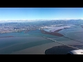 United 298 landing SNA-SFO Orange County John Wayne San Francisco Airbus A320