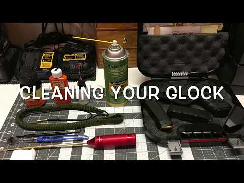 Cleaning your GLOCK or any Striker Fired Hand Gun- Part 1