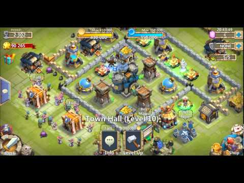 [Castle Clash/城堡爭霸] Upgrading Town Hall To Level 11