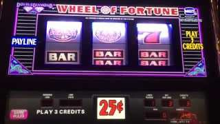 Wheel of Fortune live play