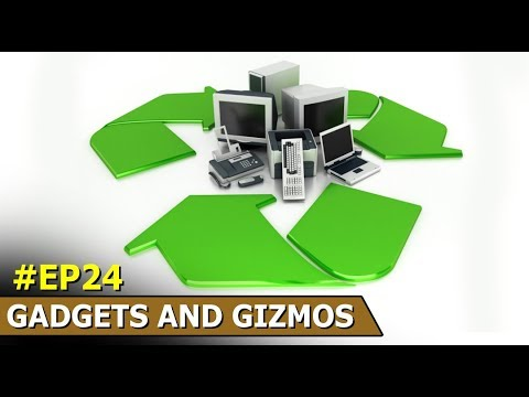 Computer Recycling | Egypt Pyramid | Renewable Energy Centre | Gadgets And Gizmos | Episode 24