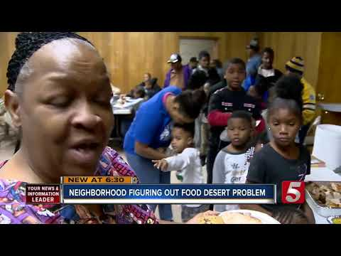 Thanksgiving Held Amid Edgehill Food Desert
