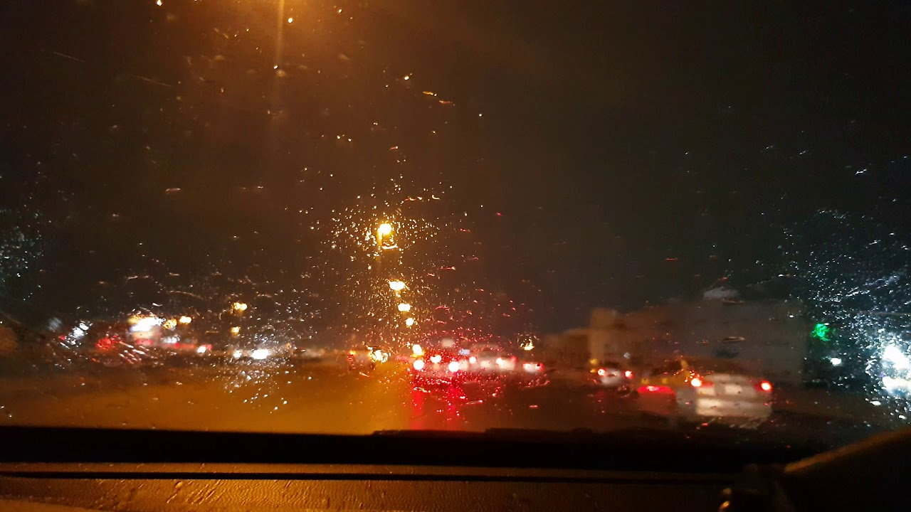 امطار مدينة جدة الثلاثاء 8 اكتوبر 2019