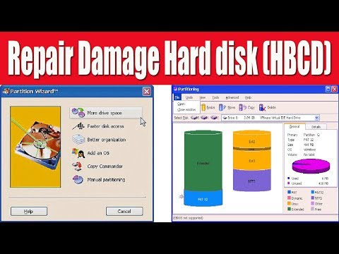 How to repair Hard disk drive in bangla | hiren's boot cd | repair HDD use partition commander