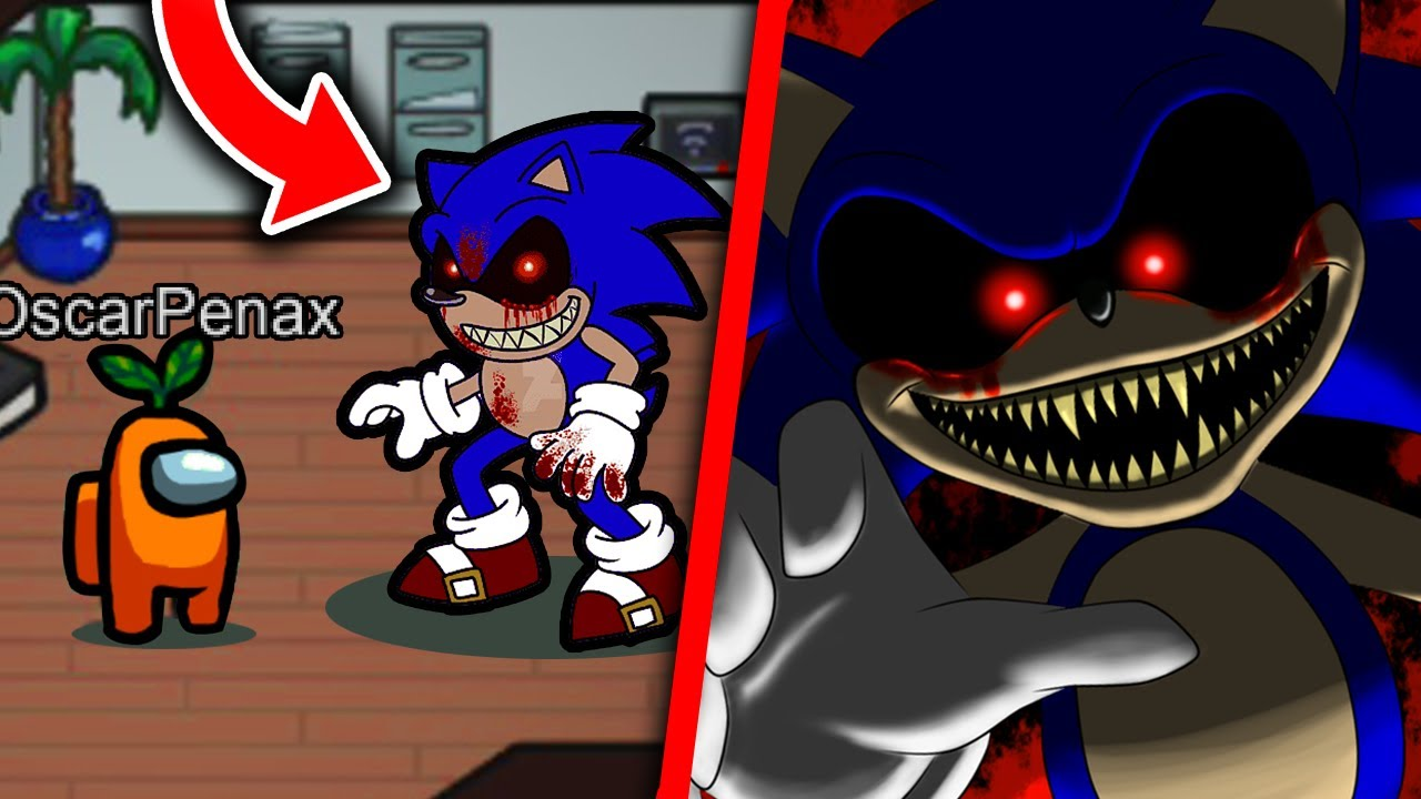 Download AMONG US pero con SONIC.EXE! 😱