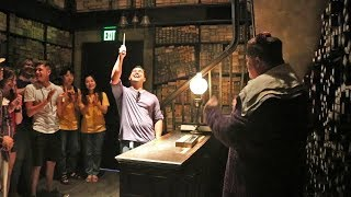 Ollivanders Wand Selection Ceremony- The Wizarding World of Harry Potter