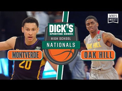 Montverde vs. Oak Hill - 2015 Dick's Nationals Championship game - Who's Next Rewind
