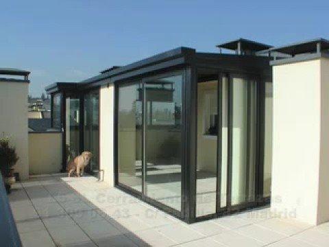 L5 sl cerramiento de terrazas cerramiento aluminio madrid for Casetas aluminio para terrazas