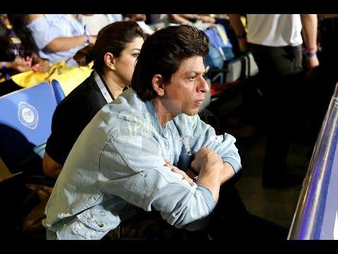 Shah Rukh Khan at IPL Match 2017