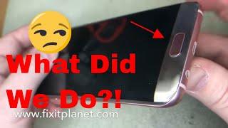 Galaxy S7 Edge Screen Repair From Start To Finish.