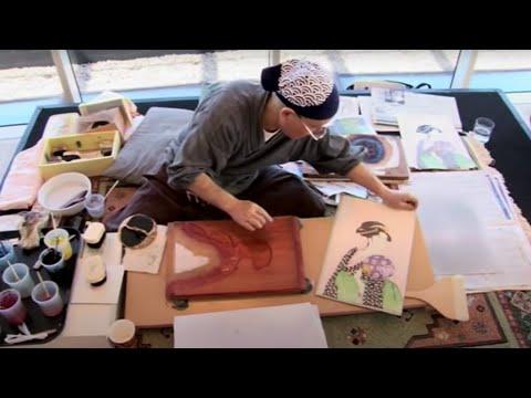 Ukiyo-e woodblock printmaking with Keizaburo Matsuzaki