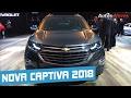 Nova Captiva 2018 / Equinox em detalhes - Autos Novos