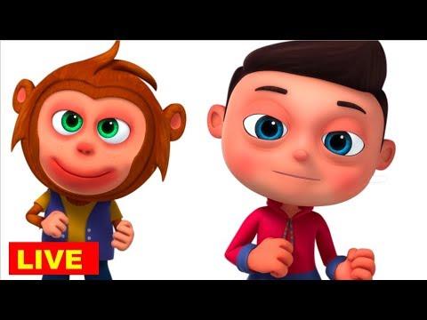 Telugu Rhymes & Baby Songs | Videogyan Telugu Rhymes For Children Live Stream