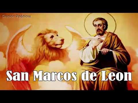 Oración a San Marcos de Leon para amansar, vencer, dominar