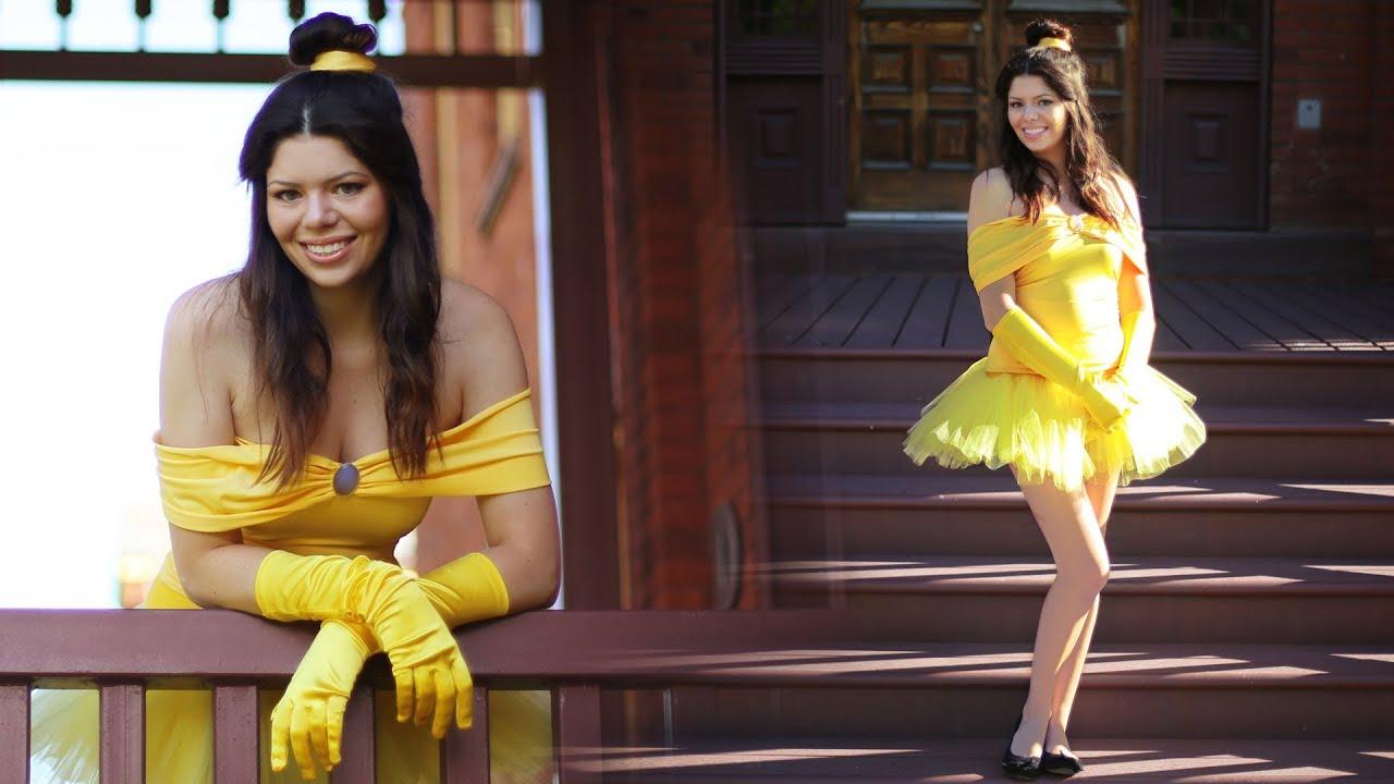 Belle diy disney princess costume youtube solutioingenieria Choice Image