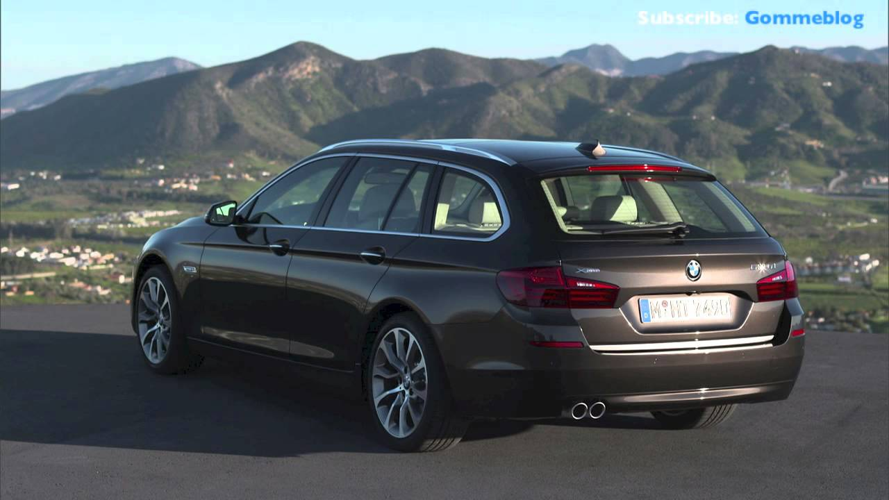 2013 New Bmw 5 Series Touring 530d Restyling Exterior