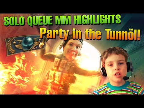 CS:GO the biBa Solo Queue MM Experience - Party in the Tunnöl!
