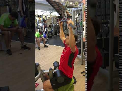 Dan Solomon Workout: Lat Pull Down
