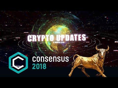310318 - Crypto Bull Run Coming!, Consensus 2018, Bitcoin vs Ethereum, Coinbase, Coindesk