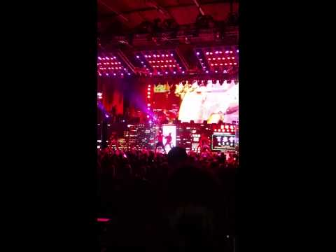 Chris Brown at The Blossom Music Center, Akron OH