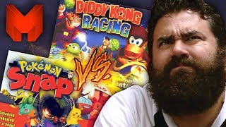 The BEST N64 Games? Pokemon Snap Vs Diddy Kong Racing - Madness
