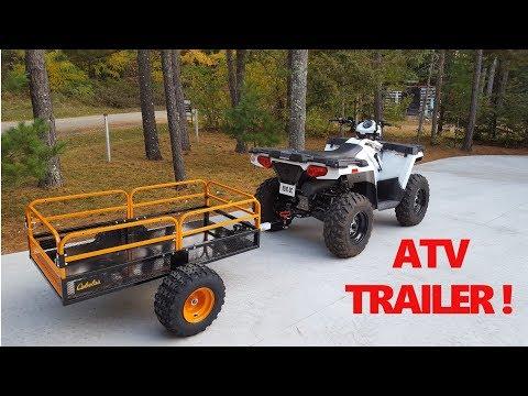 Cabela's XT1500 Off-Road ATV Trailer - Quick Look !