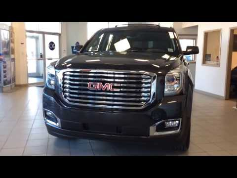 2017 GMC Yukon SLT AWD with Enhanced Driver Alert Package, NHT HD Trailering Package & MUCH MORE!