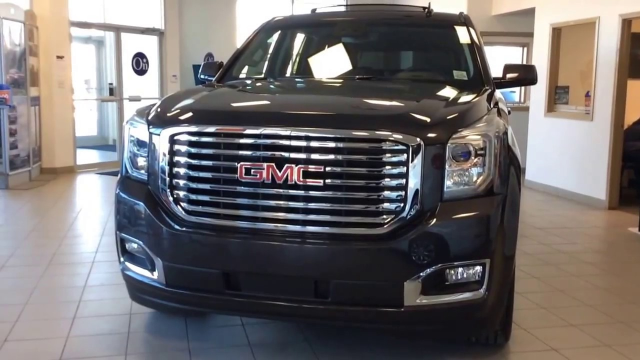 2017 gmc yukon slt awd with enhanced driver alert package nht hd trailering package much more. Black Bedroom Furniture Sets. Home Design Ideas