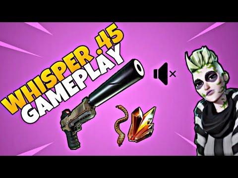 """Whisper .45 Al 130! """"Gameplay"""" - Fortnite Salva Il Mondo"""