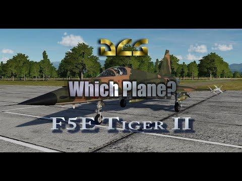 DCS - Which Plane - F5E Tiger II