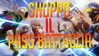 SHOPPO THE SEASON 7 BATTLE PASS! NEW AEREO AND FUNIVIA! FORTNITE BATTLE ROYALE ITA
