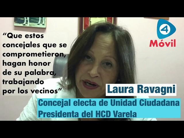 """Laura Ravagni en Cuatro Medios: """"Mi compromiso es con los vecinos de Varela"""""""