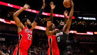 Houston Rokets vs New Orleans Pelicans - Highlights | November 11, 2019-20 NBA Season