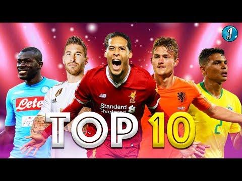 Top 10 Defenders In Football 2019/2020 ● Virgil Van Dijk ● Sergio Ramos ● Matthijs De Ligt ● & More