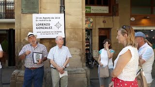 Homenaje en Logroño al judio Lorenzo González quemado por la Inquisición