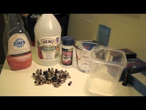 Cleaning Brass For Reloading (Without A Tumbler) - Youtube