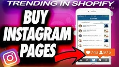IG Marketing - Buying An Instagram Account 100% SAFE and EASY