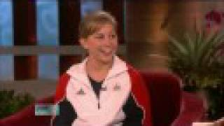 Shawn Johnson on The Ellen Show - 9/9/08 (PART 1 of 2)