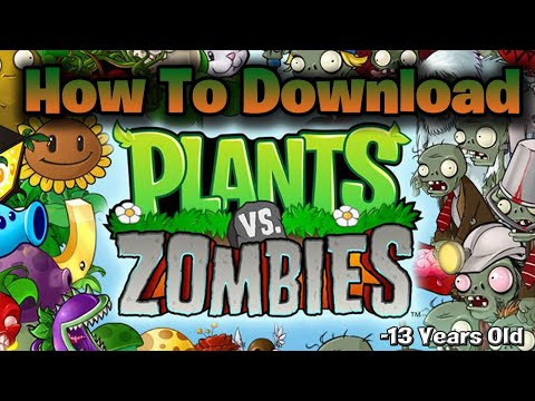 How To Download Plants Vs Zombies Full Version For Free For PC!!! With Proof!!!(With Link)