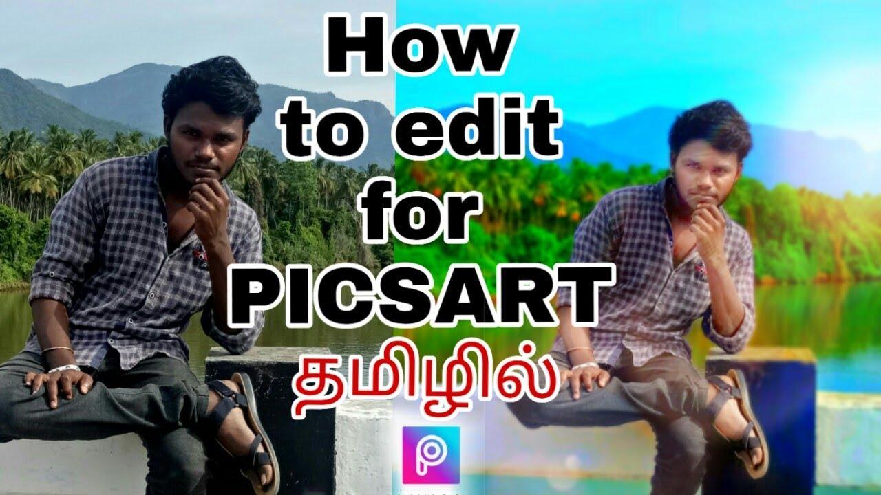 Download Picsart : Splash effect  (Tamil)  Tutorial no :1