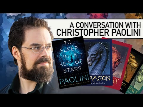 Christopher Paolini — Eragon author talks worldbuilding, fantasy/sci-fi, how to plot, and themes