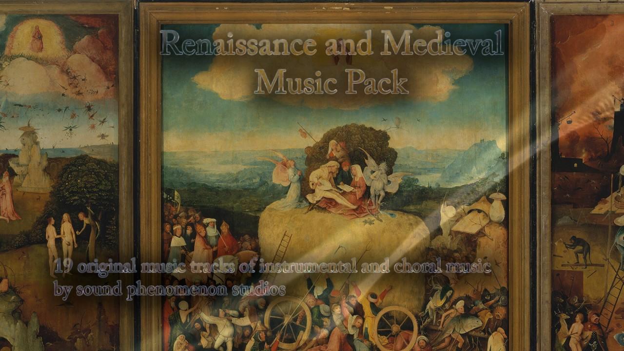 medieval renaissance music pack 40 minutes of original