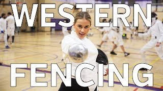 Western TV Joins the Fencing Team