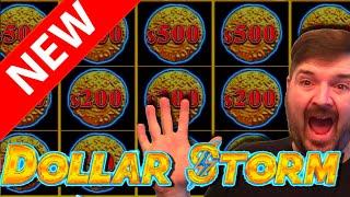 🚨🚨🚨NEW SLOT ALERT! 🚨🚨🚨I PLAY EACH THEME! 🚨🚨🚨 HIGH LIMIT Dollar Storm Slot Machine