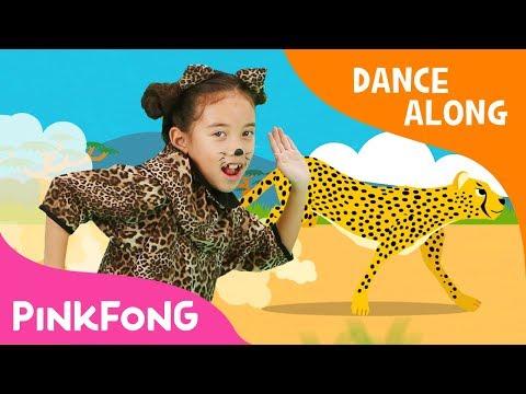 Cheetah Running | Dance Along | Pinkfong Songs for Children