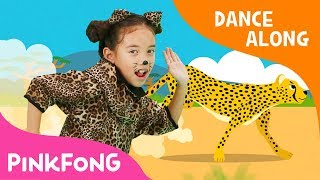 Cheetah Running | Dance Along | Pinkfong Songs for Children