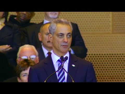 CNN: Rahm Emanuel is sworn in as Chicago Mayor