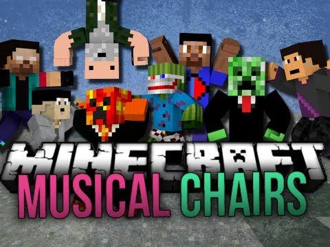 Minecraft: Musical Chairs   Balls!